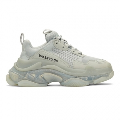 Balenciaga Triple S Clear Sole Grey Women