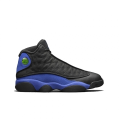 Authentic Air Jordan 13 Retro Black Hyper Royal